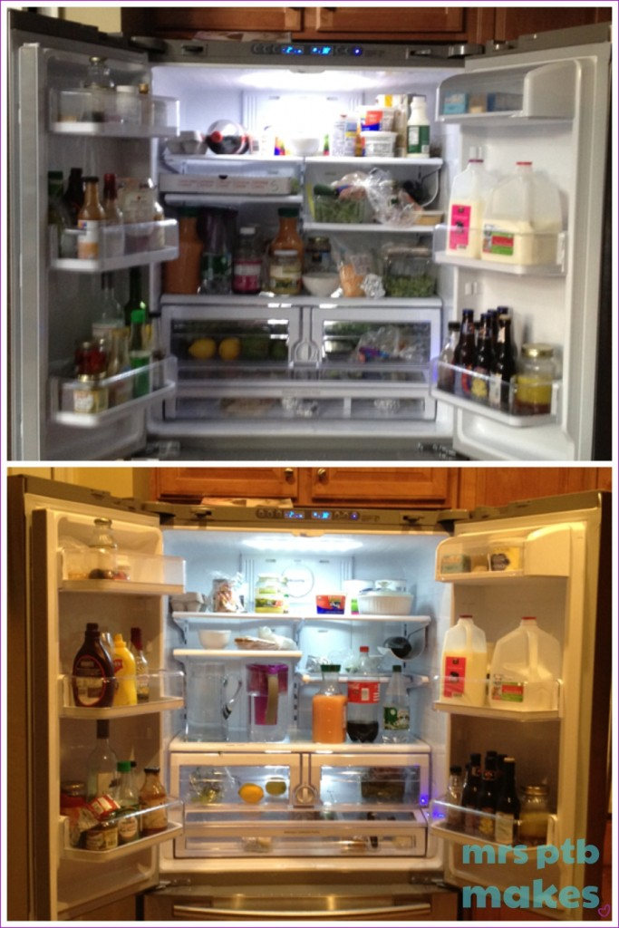 Fridge Before & After