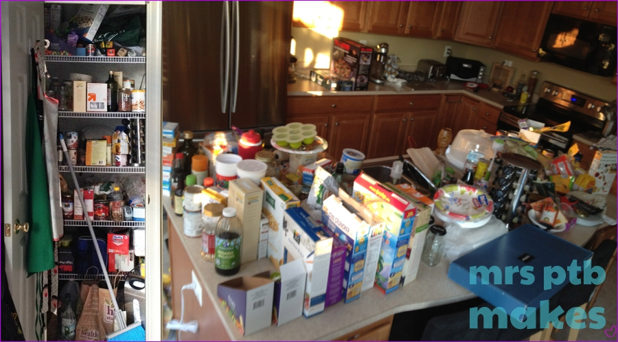 omg look at my pantry