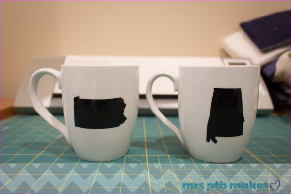 State Mugs with the Silhouette Cameo