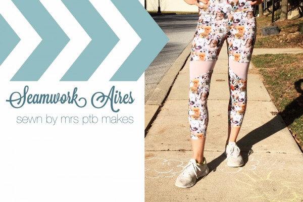 Seamwork Magazine Aires Leggings